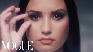 demi lovato unfiltered a pop star removes her makeup vogue