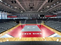 Covelli Center Volleyball Ohio State Buckeyes