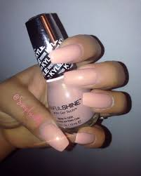 kylie jenner nail polish from sinful colors in karamel