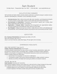 How To List Skills On A Resume New Resume Skills For High School Students