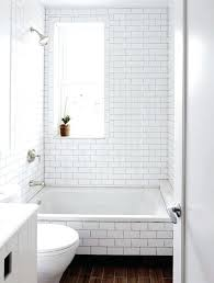 white subway tile bathroom home depot nice tub with shower in and slide window the