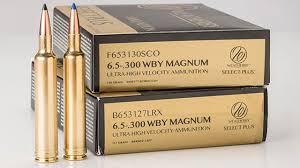 Nra Gun Gear Of The Week 6 5 300 Weatherby Magnum Ammunition