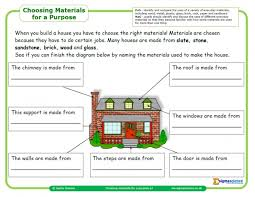 Our science worksheets for kids are a great way to. Choosing Materials For Purpose Worksheet For Year 2 Science Teachwire Teaching Resource