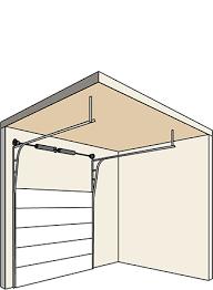 high lift garage doorGarage Door Track Options