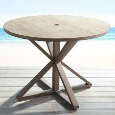 awesome gray round dining table regarding round wood patio table popular