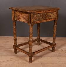 industrial antique furniture. Faux Bamboo Lamp Table Industrial Antique Furniture