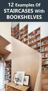 stair bookcase furniture. Stairs Design Ideas - 12 Examples Of Staircases With Bookshelves Stair Bookcase Furniture