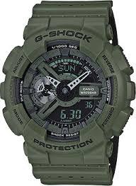 Наручные <b>часы Casio</b> G-Shock с зеленым браслетом ...