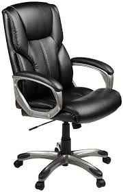 leather office chair amazon. The Amazon Basics High Back Executive Chair Leather Office R