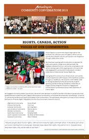 RIGHTS, CANADA, ACTION