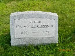 Ida McGill Glessner (1899-1979) - Find A Grave Memorial