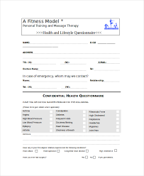 Survey Template Doc Printable Pdf Doc Health Questionnaire Template Word