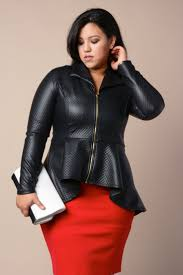 5 ways to wear a plus size leather blazer in style | Leather ... & 5 ways to wear a plus size leather blazer in style Adamdwight.com