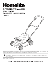 ut13122 homelite mower wiring diagram how i converted my homelite cordless mower to lithium power user you need for your and garden product more manualsonline 2 so a dead schematic