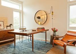 mid century modern mirror design