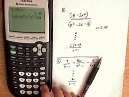 simplify equation calculator tessshlo algebra rational expressions ti 84 examples you