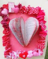 bookpage heart and fabric frame tutorial scroll down a bit to get to the tutorial find this pin and more on altered book