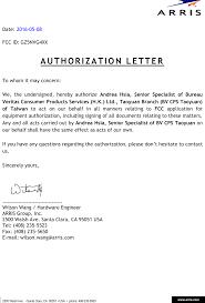 Nvg4xx Arris Gateway Cover Letter Letterhead Template