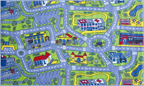 kids car rugs to play on