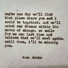 Ill Be Missing You Quotes Drake Quotes