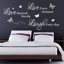Great Image Is Loading Live Laugh Love Quote Bedroom Wall Art Sticker