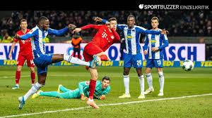 V., commonly known as fc bayern münchen, fcb, bayern munich, or fc bayern, is a german professional sports cl. Fc Bayern Und Hertha Bsc In Der Einzelkritik Die Noten Zum Fcb Torfestival Sportbuzzer De