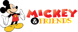 Mickey & Friends Logo Vector (.EPS) Free Download