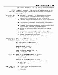 Inspirational Clinical Nurse Practitioner Sample Resume Resume