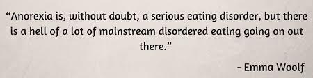 Anorexia Quotes Inspiration Top 48 Quotes On Anorexia Healthtopia