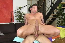 Gay naked man masturbating