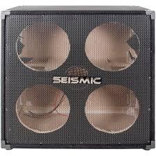 4x10 Guitar Cabinet Seismic Audio 410 Empty 4x10 Bass Guitar Cabinet No Woofers