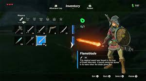 Breath Of The Wilds Developers Explain Why Weapons Break