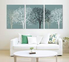 3 piece black and white abstract trees split canvas picture of art wall canvas artwork framed ready to hang all images on large real wood frames  on amazon uk black and white wall art with 3 piece black and white abstract trees split canvas picture of art