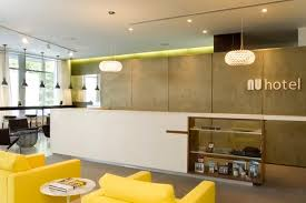 modern chic front desk lobby hospitality interior design nu hotel rooms brooklyn nyc