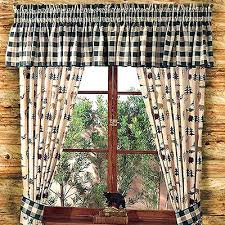 cabin curtains cabin curtains northern exposure lined ds shower curtain sets