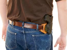 owb concealed holsters leather backed