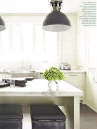 french industrial lighting. Marble Counters W/ Stainless Steel Sink, French Industrial Lights Lighting T