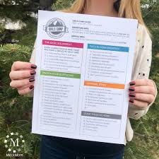 Packing List Amazing Girls Camp Packing List Editable Printable MeckMom