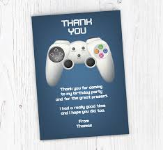 Electronic Thank You Card Free Gaming Controller Thank You Cards