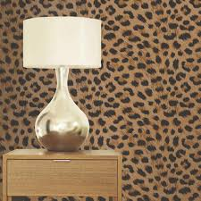 Leopard Bedroom Decor Luxury Leopard Print Wallpaper 10m Room Decor All Colours Tiger