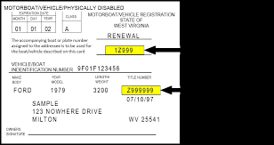 registration card example
