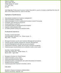 Inventory Controller Resumes Inventory Management Specialist Resume Thrifdecorblog Com