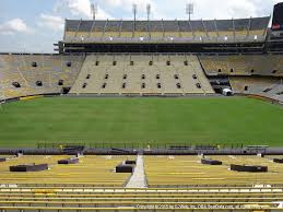 Lsu Tiger Stadium View From West Sideline 103 Vivid Seats