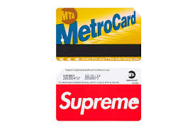 Mta Metrocard Design The Supreme Nyc Metrocard Is Popping Up On Ebay For 30x Its