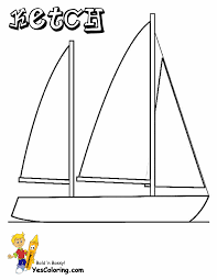 Small Picture Superb Sailing Boat Coloring Pages Boats Free Ship Coloring