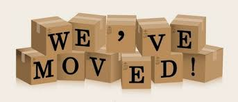 Image result for we have moved