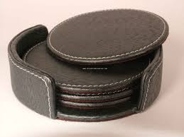 Leather Coasters | ༺✿༻Leather Accessories༺✿༻ | Pinterest ...
