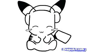 pikachu color pages cute coloring pages how to draw a cute step coloring pictures of unicorns