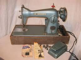 Vintage Bradford Sewing Machine