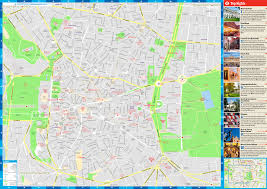 madrid maps  top tourist attractions  free printable city